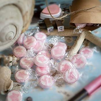 WeddingTree bonbon mariage de étoile rose- 500g Rochers bonbons just married - bonbon just married de décoration de table pour baptême, de mariage, Saint-Valentin Fête, des Mères ou communion