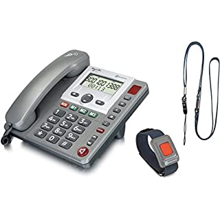 amplicomms PowerTel 97 Alarm, Großtastentelefon