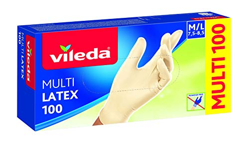 guanti lattice Vileda Multilatex 100 Grocery
