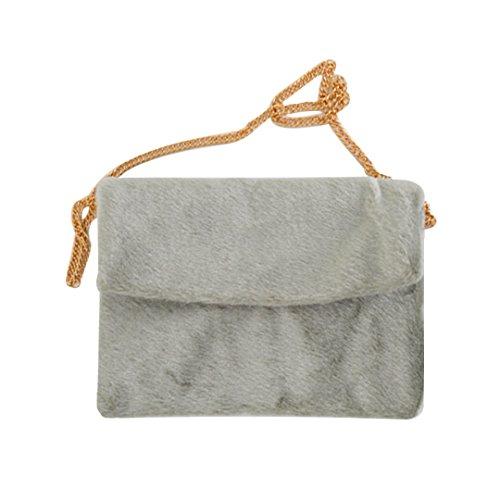 Millya, Borsa a tracolla donna, Grey (Grigio) - bb-01598-01C Grey