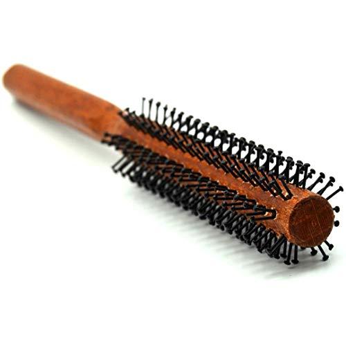 The Beardy Bro I Männer Rundbürste für den Bart und Haare I Bartbürste für den Mann mit Bart I Föhnbürste mit speziellen Noppen I Haarbürste für kurze bis mittellange Haare (1. Smal 25mm) -