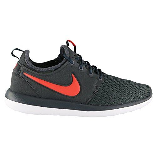 Nike Roshe Two (GS) Sneaker Turnschuhe Schuhe für Kinder Grau (Cool Grey/Max Orange/Black)