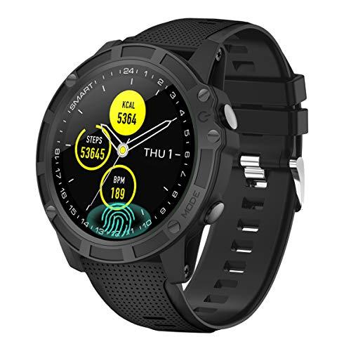 【Neuestes Modell】 Antimi Smartwatch, Bluetooth Smart Watch Fitness Tracker Armband Sport Uhr Pulsuhren Schrittzähler mit IP68 Wasserdicht Schwimmen Blutdruckmessung Blutsauerstoff für iOS Android ...