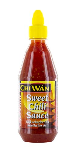 Chi Wán Sweet Chili Sauce Squeeze Flasche, 3er Pack (3 x 430 ml)