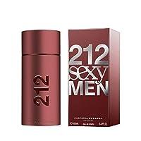 212 Sexy Men by Carolina Herrera - perfume for men - Eau de toilette, 100ml