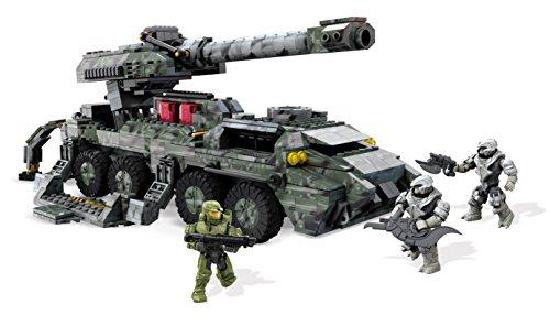 Halo Wars 2-mega Bloks DPJ94, cannone da assedioUNSC Kodiak, playset con 868pezzi e figure