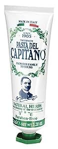 Pasta del Capitano 1905 Dentifricio Erbe Naturali, 25 ml - [confezione da 12]