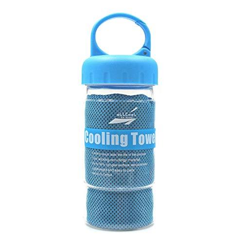 XINJIA Kühltuch Für die sofortige Kühlung, Gym Microfaser Handtuch Eiskalte Handtücher für Yoga Gym Travel Camping & Outdoor Sports