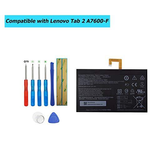 Upplus L14D2P31 Ersatz Akku Kompatibel Für Lenovo Tab 2 A10-70 Tab 2 A10-70F with Toolkit