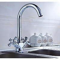 XX&GX becco della parte girevole vanità lavello rubinetto due maniglie cucina rubinetto del bacino rubinetto del bagno