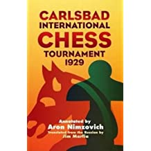 Carlsbad Int Chess Tourn 1929 (Dover Chess)