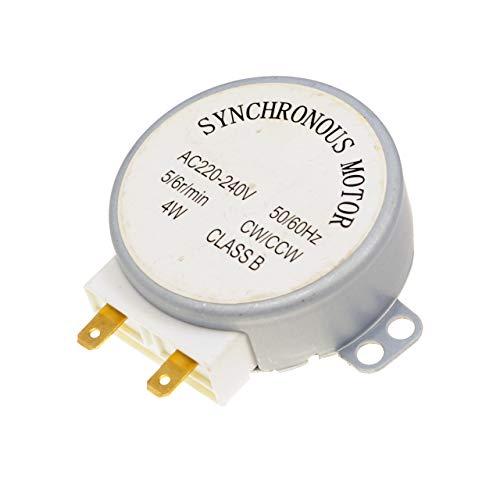 Mikrowelle TYJ50-8A7 4W 5/6 RPM 11mm Synchronmotor Spindle Drehteller-Motor für Whirlpool JT 369/SL