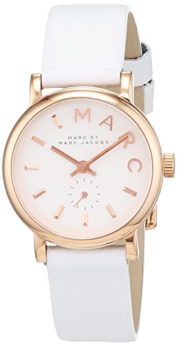 Marc Jacobs MBM1284 Women's Analogue Quartz Watch with Stainless Steel XS