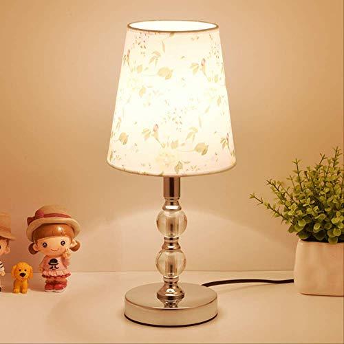 Estilo moderno lámpara de mesa de cristal nórdico hotel decoración ...