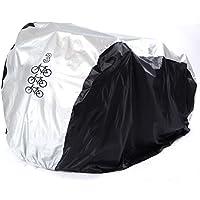 Funda Protector de Polyester Cubierta con Bolsillo 200 x 105 x 110 cm para Bicicleta Motocicleta