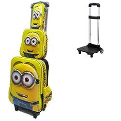 sf-world - Juego de maletas amarillo Minion
