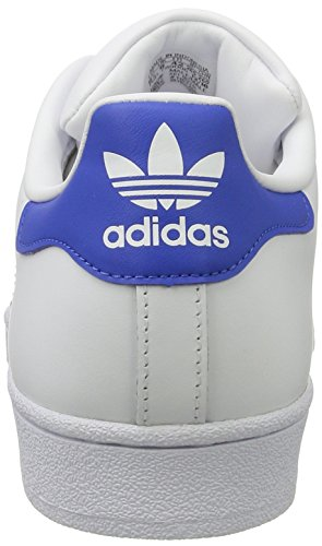 adidas Superstar Foundation Schuhe 6,5 white/blue/red - 2