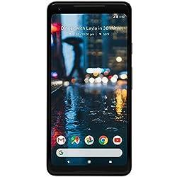 "Google Pixel 2 XL 6"" Single SIM 4G 4GB 128GB 3520mAh Black - Smartphones (15.2 cm (6""), 128 GB, 12.2 MP, Android, 8, Black)"