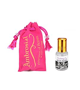 Ambrosial 6ml Mitti Pure & Natural Indian Attar Perfume Concentrate Oil