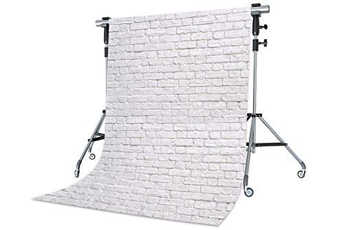 WaW Fotohintergrund Weiß Ziegel Struktur Studio Fotoshoot Hintergründe