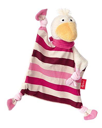 sigikid, Mädchen, Schnuffeltuch Ente, Gisella Goose, Rosa/Pink, 41334