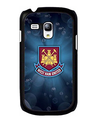 Blazing Pattern Design Samsung Galaxy S3 Mini Hard Plastic Cell Phone Cover Cute Design Pattern Drop Protection Drop Resistant High Impact West Ham United F.C Protective Cell Phone Cover For Boys - Mewmewtat
