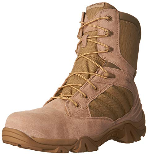 Bates Men's GX-8 8 Inch Ultra-Lites Zip Uniform Work Boot, Desert, 10 XW US Bates Composite-boot