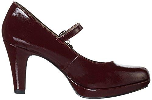 s.Oliver 24400, Escarpins femme Rouge (Bordeaux 549)