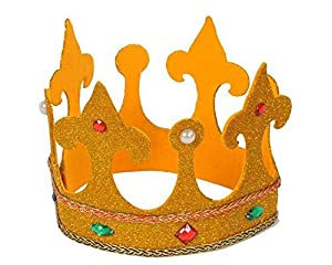 Dress Up America Reyes Adultos High Royal Corona