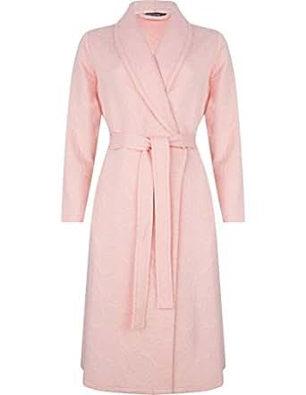 Pastunette 7071-327-0-350 Women\'s Light Salmon Pink Dressing Gown ...