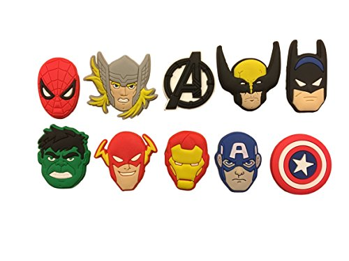 super-hero-avengers-10-pcs-shoe-charm-set-shoes-crafts-cake-toppers