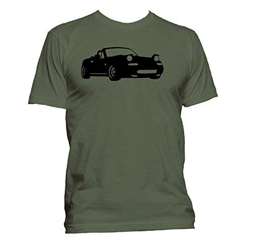 mazda-mx5-mk1-nt-miata-eunos-ringspun-crewneck-mens-t-shirt-military-green-large