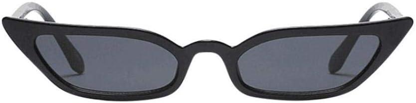 Forthery Women's Cat Eye Sunglasses Goggles Vintage Mod Style Retro Small Frame Eyeglasses Uv400