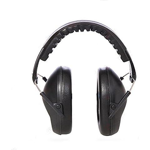 Rumore pieghevole Annullamento auricolare / cancellazione del rumore Cuffie / Protezione dell'udito Cuffie auricolari / cuffie con 30dB NRR limitazione di protezione dell'udito per la ripresa di blocco caccia solida costruzione lavoro, Blu