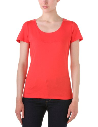 Tom Tailor Casual Colour Basic - T-Shirt - Femme Rouge (Flash Red)