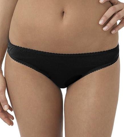 OnGossamer Women's Mesh Low-Rise Hip G-Thong Panty,Black,L/XL
