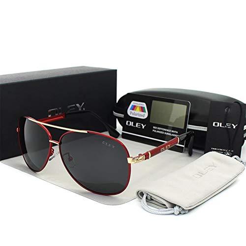 TIANZly Luxus Sonnenbrille Männer Polarisierte Klassische Pilot Sonnenbrille Angelzubehör Schutzbrille