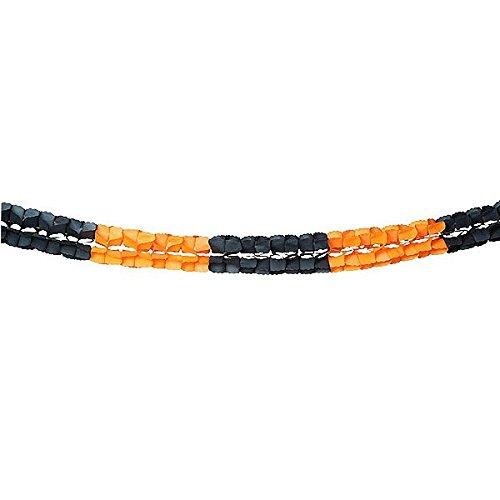halloween 16x300 cm color negro/naranja (Naranjas De Halloween)