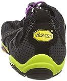 Vibram FiveFingers V-RUN, Damen Outdoor Fitnessschuhe, Mehrfarbig (Black/yellow/purple), 40 EU - 2