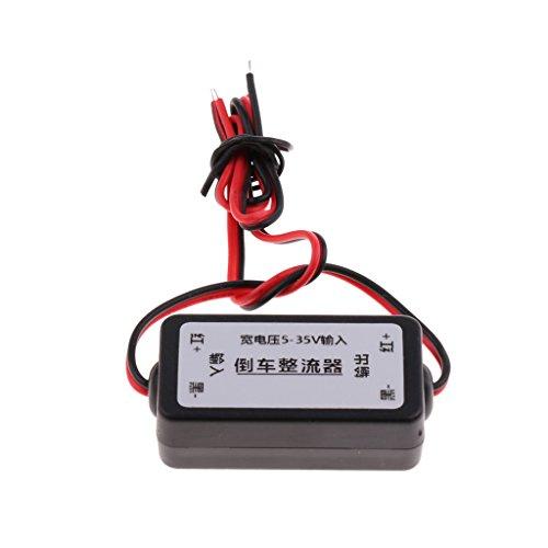 Homyl Direkt Ersatz Rückfahrkamera Leistungsrelais Kondensator Filter Gleichrichter Universal