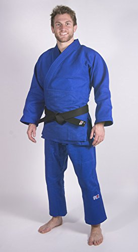 Ippon Gear Judoanzug Fighter, blau, 180, JI750