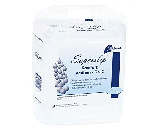 Meditrade Beesana Superslip Comfort Medium größe 2, 1er Pack (1 x 15 Stück)