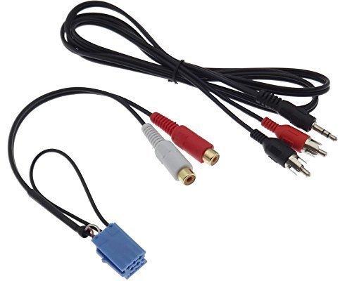 AUX Line IN Adapter SMART 450 Klinke Stecker 3,5 Kabel Autoradio Grundig CD MP3