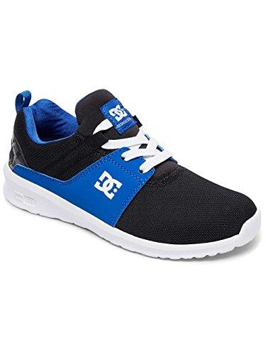 DC Heathrow, Sneakers Basses Garçon Multi-Couleurs - Black/Blue/White