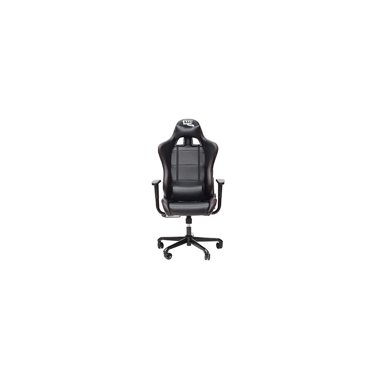 41 7fJoYJ3L. SS1200  - 1337 Industries GC707 - Sillón para Gaming (PVC, PU), Color Negro