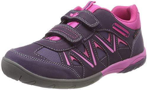 Lico Mädchen KOLIBRI V H Sneaker, Blau Lila/Pink, 33 EU