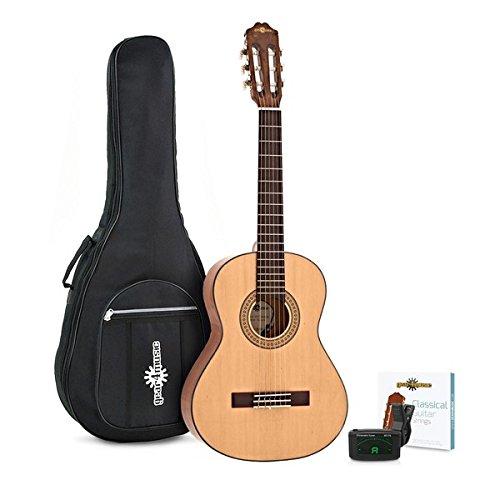 Guitarra Española 3/4 Deluxe + Accesorios de Gear4music - Natural