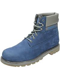 300f9fa16f6 Amazon.fr   Bleu - Bottes et boots   Chaussures homme   Chaussures ...