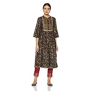 Amazon Brand – Myx Women's A Line Salwar Suit Set