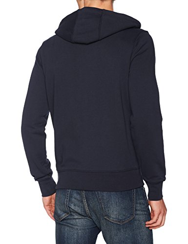 Tommy Hilfiger Herren Sweatshirt Core Cotton Zip Hoodie Blau (Sky Captain 403)